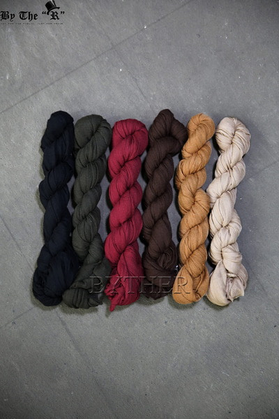 Twisted Wrinkle Color Scarf