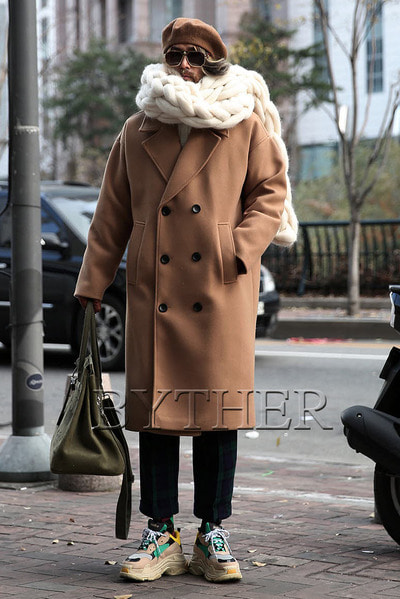 Casual Woolen Double Coat