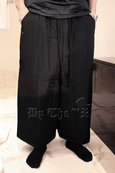 ByTheR Rope String Padded Wide Pants