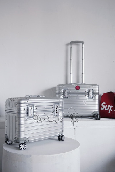 Inner Plain Aluminium Metal Luggage