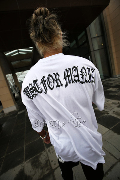 ByTheR Slogan Print T-shirt