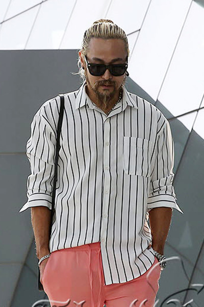 Mono Striped Loose Fit Shirts