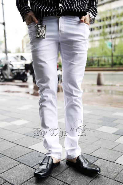 Vivid Colorful Span Cotton Pants