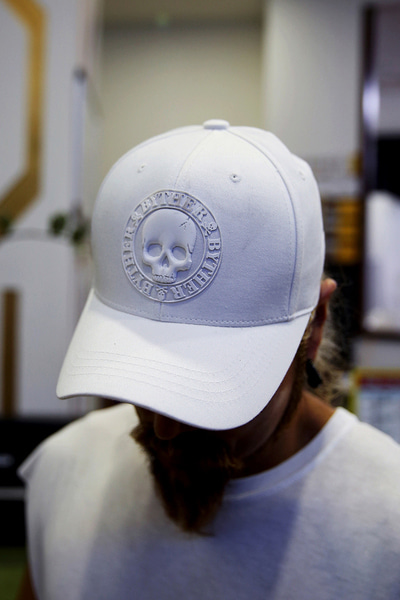 ByTheR Skull Logo Cotton Snap-Back