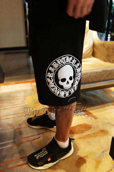 ByTheR Skull Logo Sweatshorts