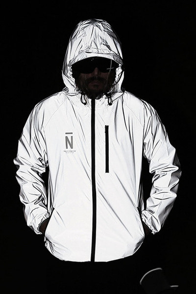 N Printing Scotchlite Windbreaker