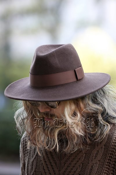 ByTheR Woolen Limp Fedora Hat