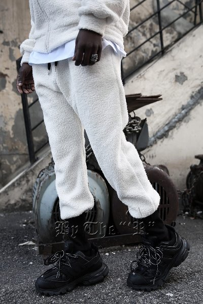 Soft Fleece Ankle Banding Jogger Pants