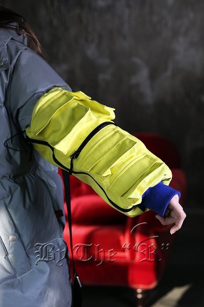 Techwear Strap Pocket Wrist Warmer