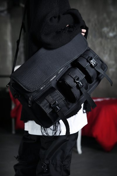 ByTheR Techware Triple Pocket Messenger Bag