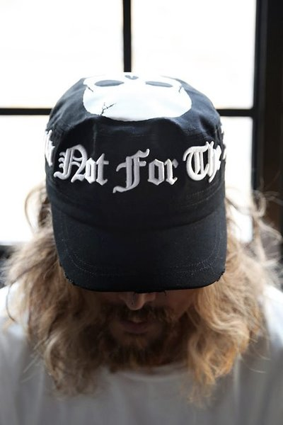 By TheR Slogan Embossing Skull Embroidery Military Cap