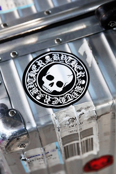 ByTheR Skull Logo Sticker