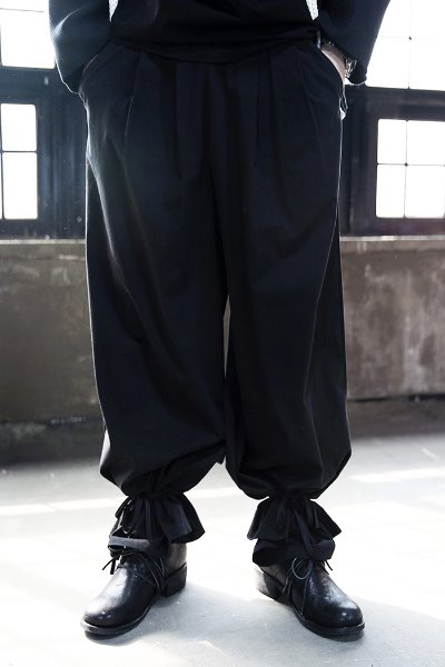 ByTheR Ankle Ribbon Wide Pants