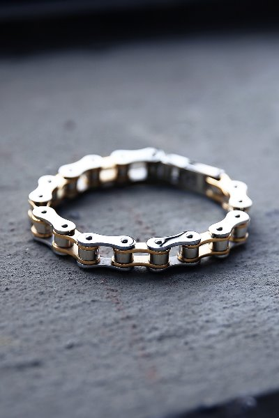 Silver Gold Mixed Chain Bracelet