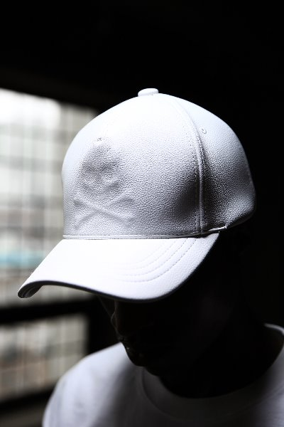 ByTheR Shadow Skull Leather Snapback