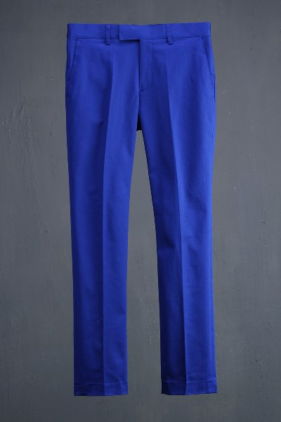 ByTheR Classic Casual Vivid Color Slacks