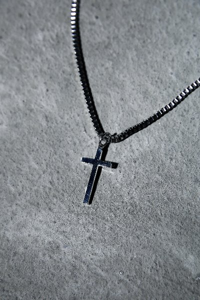 Surgical Steel Cross Pendant Necklace