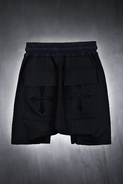 ByTheR Black Cross Traning Baggy Shorts