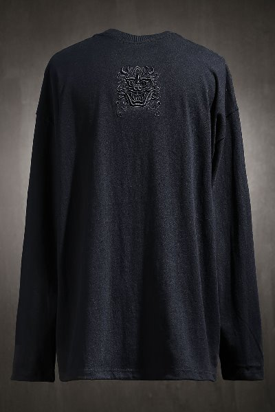 Mukha Embroidered Long Sleeve Black