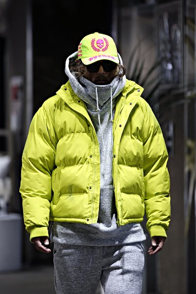 Daily Colorful Short Goose Down Jacket
