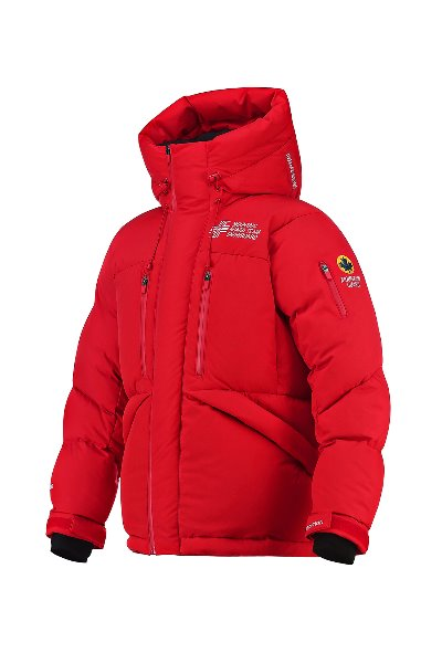 Mountain Guard Alpine 750 Snowboard Team Duck Down Red