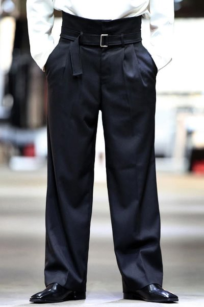 High Waist Belt Slacks