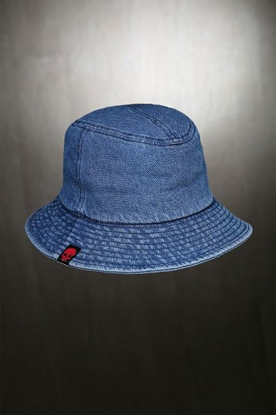ByTheR Washed Denim Bucket Hat