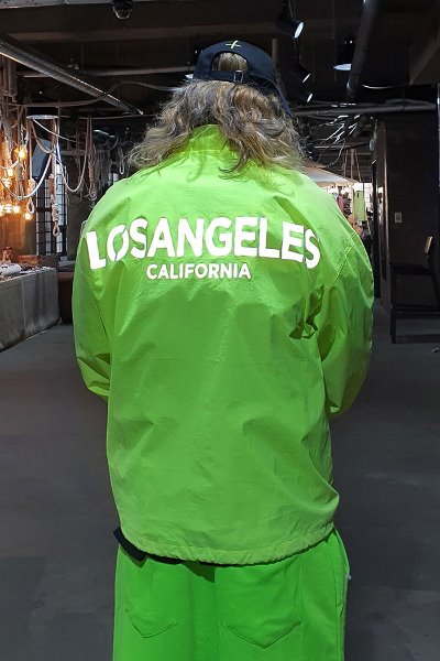 Los Angeles Luminous Reflective Windblock Jacket
