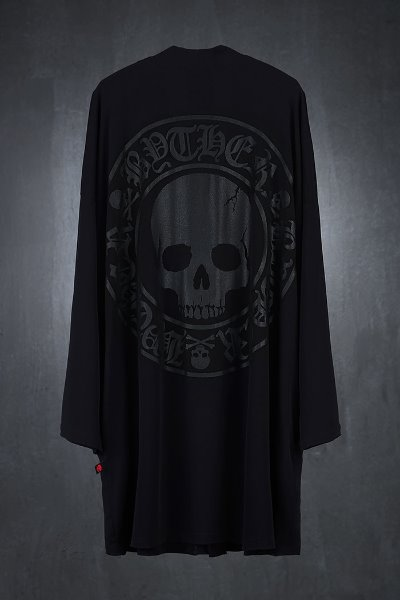 ByTheR Cool Touch Soft Skull Logo Cardigan