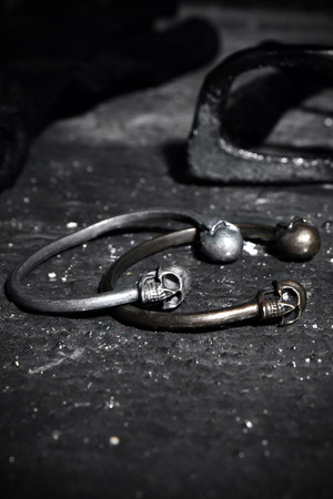 ByTheR VVD Skull Bangle Bracelet