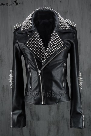 ByTheR Customed Elbow Studded Rider Jacket