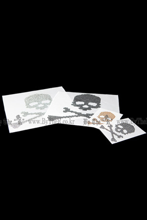 ByTheR DIY Cubic Skull Custom Decorating Options