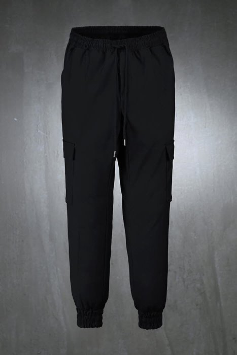 Cargo Pocket Banding Jogger Slacks