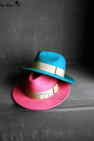 ByTheR Vivid Color Fedora