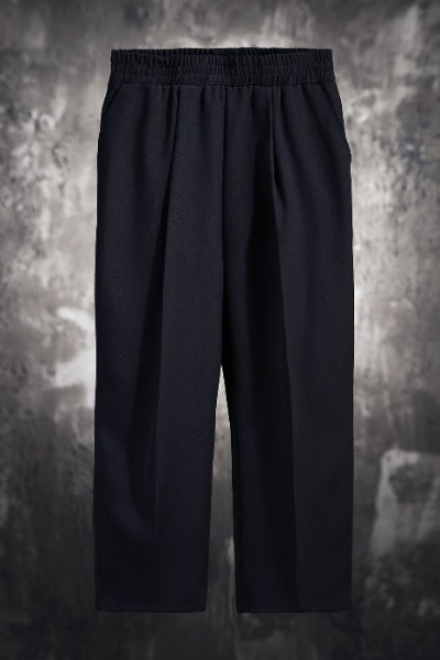 ByTheR Loose Close-Cropped Slacks