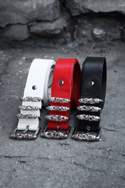 ByTheR Silver Chrome 3 Locking Belt