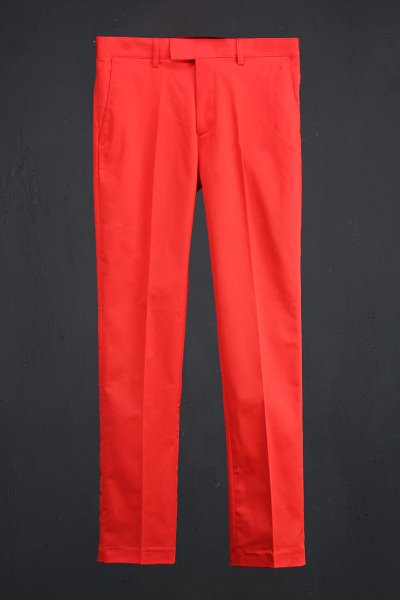 ByTheR Vivid Classic Slacks Red