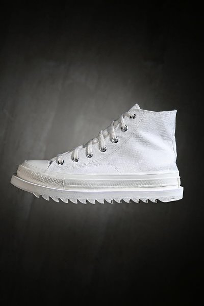 Sharksol high white sneakers