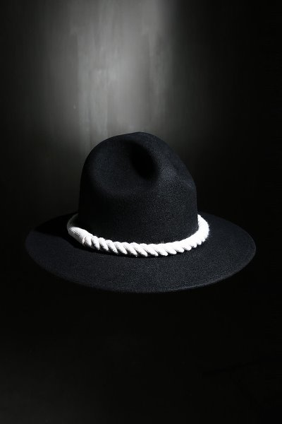 Mukha Dark Rope Mountain Fedora Ivory