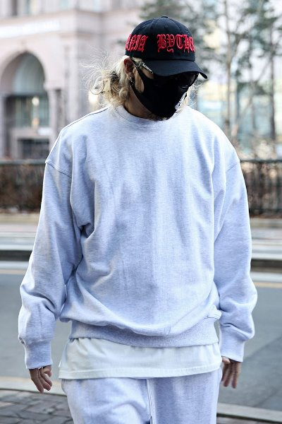 Box Cotton Loose Fit Sweatshirt