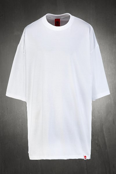 ByTheR Oversized Loose Fit Short Sleeve T-Shirt White