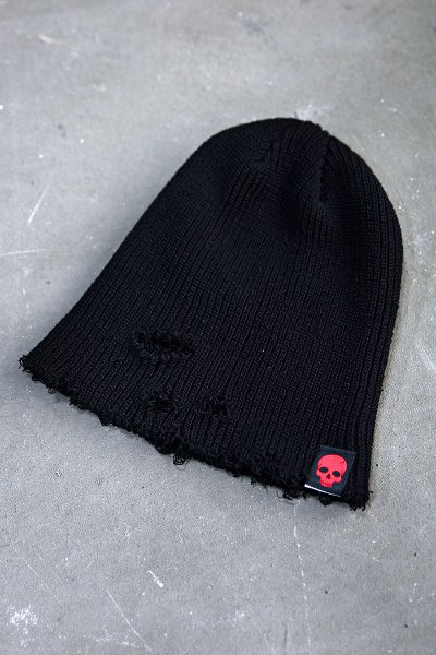 ByTheR Custom Cutting Damage Beanie