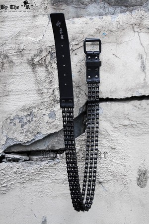 ByTheR Black Chain Belt